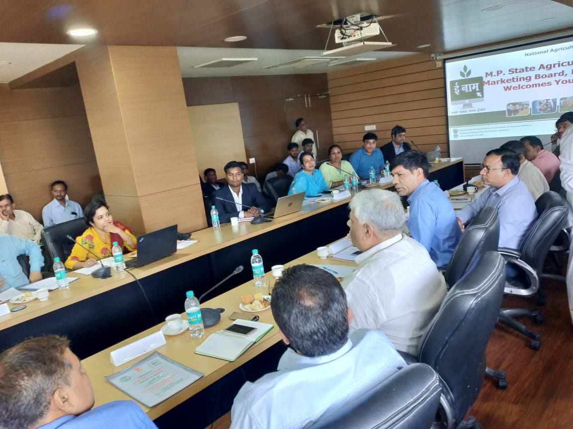 Meeting in MP for Interstate and State Review