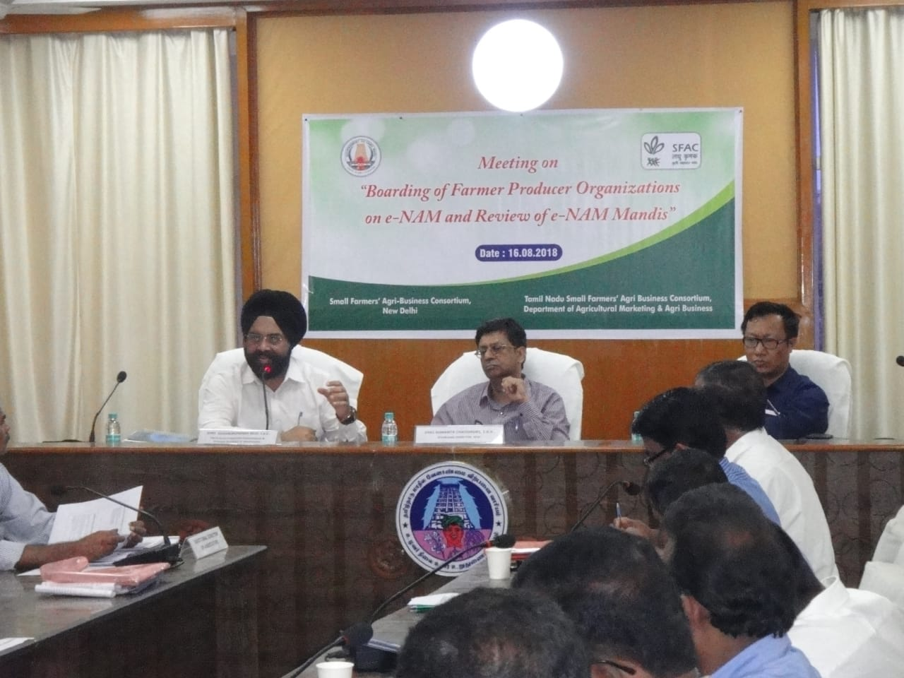 Tamil Nadu FPO onboarding & eNAM Review